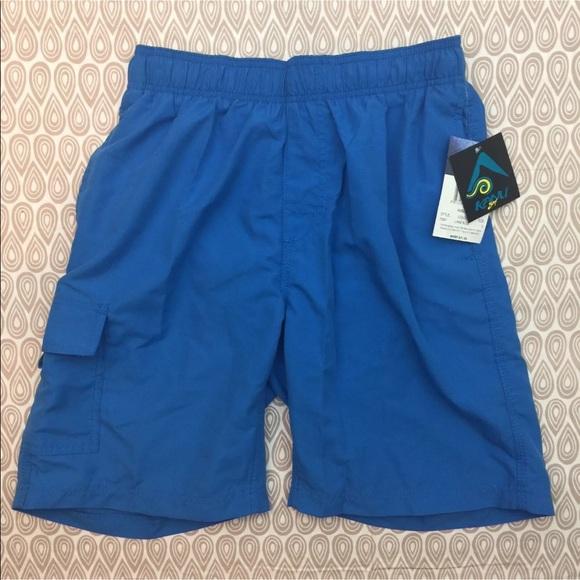 33940f9b676d0 Kanu Surf Kanu Surf Swim | Mens Lake Blue Suit Sz Small W10 | Poshmark